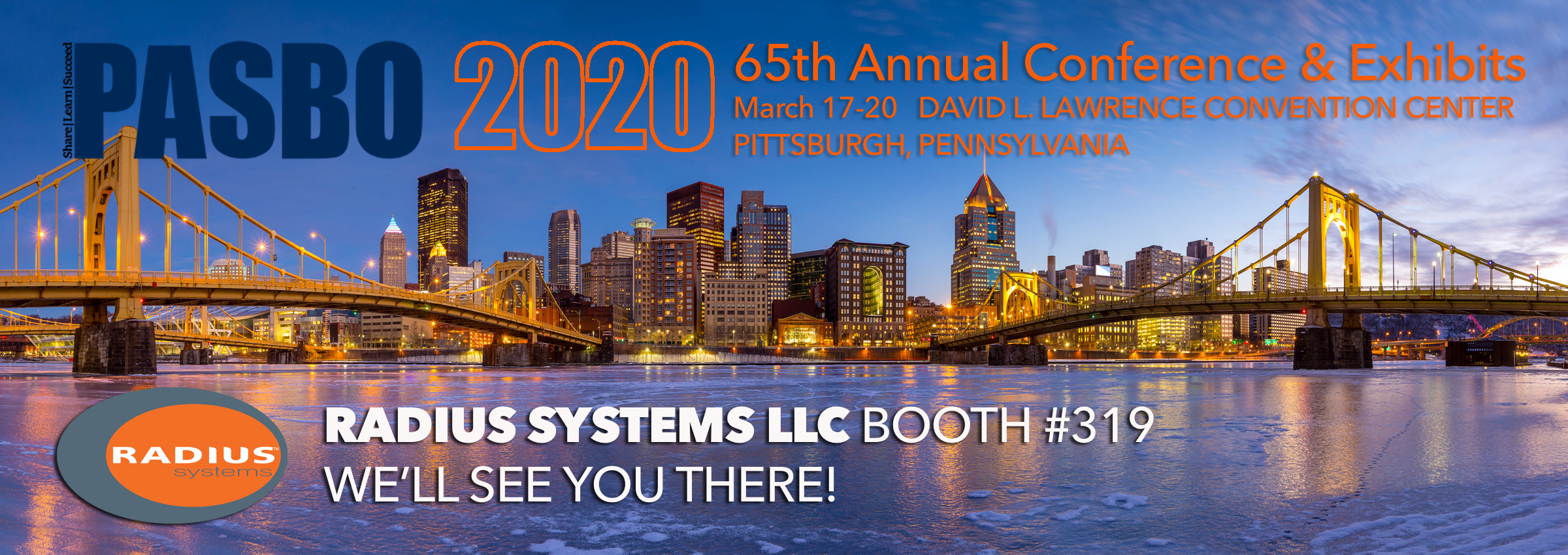 PASBO, PASBO conference, PASBO expo, Radius Systems, BAS, Building Automation, K-12 BAS, K-12 Security; Security; integrated lighting