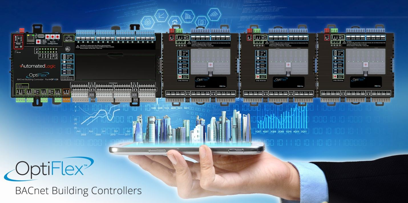 Automated Logic, ALC, OF1628, Radius Systems, Building Automation, BAS